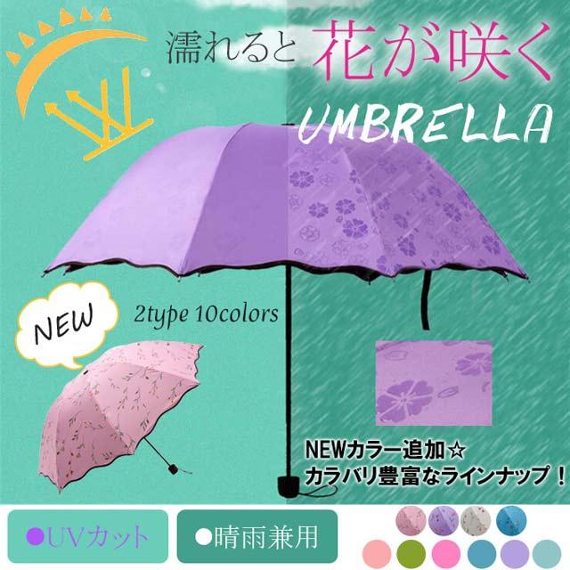 雨晴れ兼用折り畳み傘