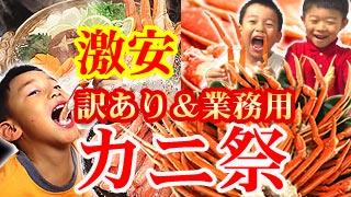 [送料無料]蟹しゃぶ福袋にズワイガニ他