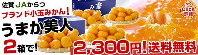 激甘「うまか美人」2箱で2,300円