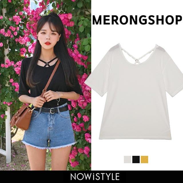 【MERONGSHOP】XリングTシャツ