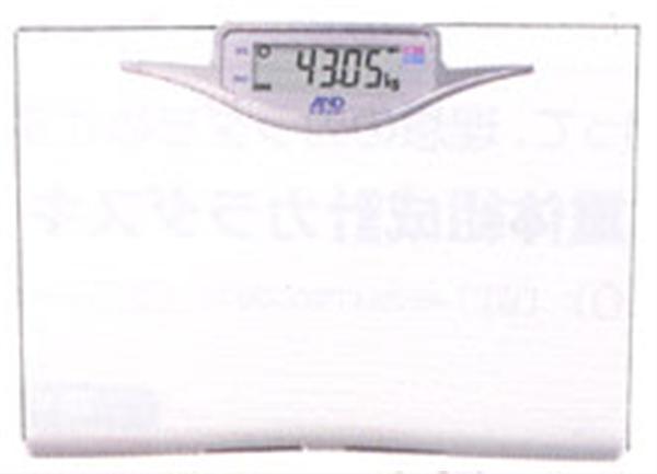ハタ ヘルスメーター50g表示・体重計 UC-322