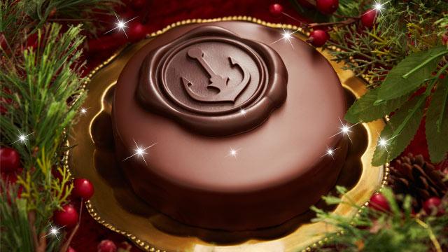 チョコたっぷり濃厚ケーキ