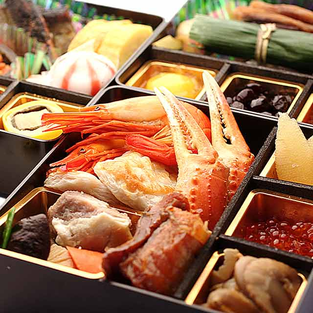 北海道産グルメ贅沢使用★海鮮おせち三段重