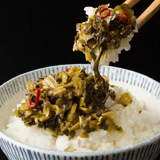 九州産 全5種類から3個選べる辛子高菜