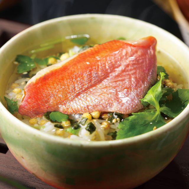 【選べる高級茶漬け】金目鯛、蛤、鰻 1食
