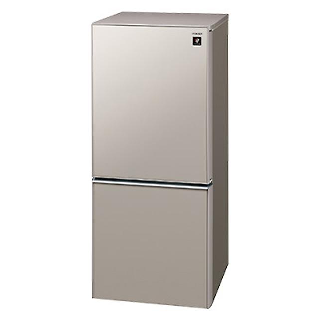 シャープ 冷蔵庫 137L 2ドア SJ-GD14C-C