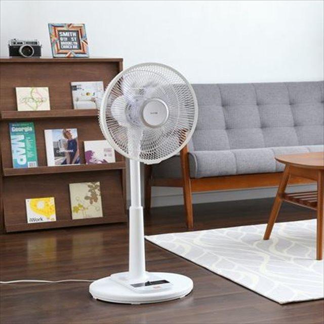 リモコン式リビング扇風機