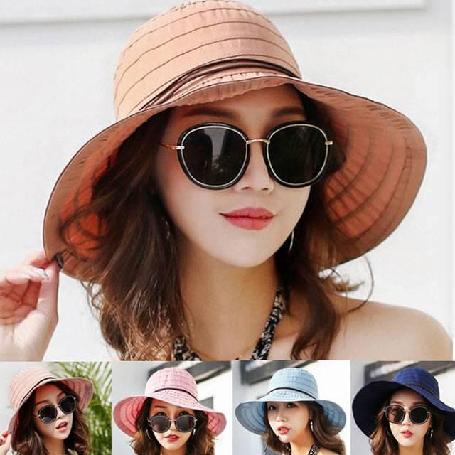 帽子 レディース UVカット 送料無料