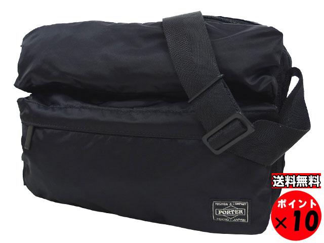 吉田カバン PORTER ポーター FRAME フレーム ショルダーバッグ 690-17848 ブラック 送料無料