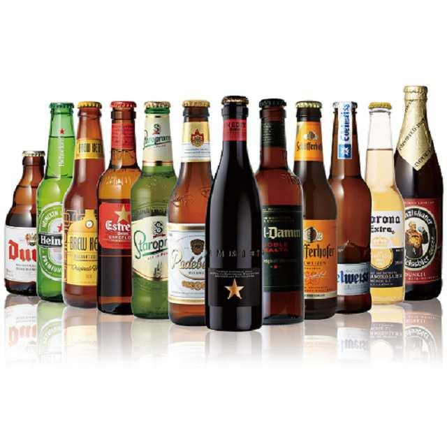 【世界のビール飲み比べ12本セット】