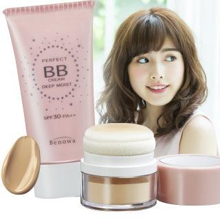 BBクリーム+ポンポンパウダー★メイクセット