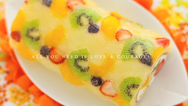 フルーツ盛りすぎ極上ロール