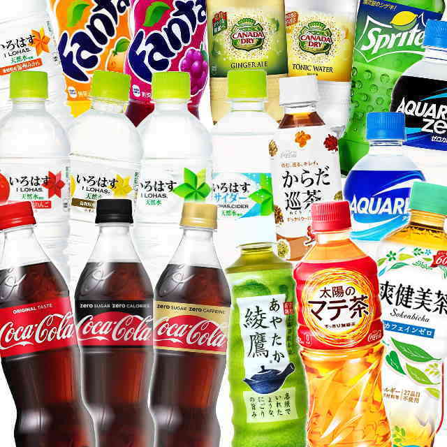 コカコーラ社製品選べる48本セット