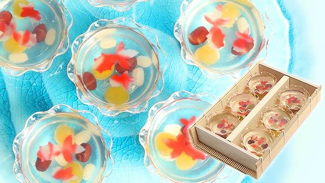 涼を贈る★美しすぎる上生菓子